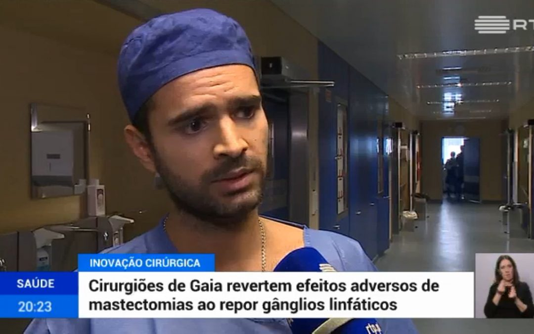 Cirurgiões de Gaia revertem efeitos adversos de mastectomias ao repor gânglios linfáticos