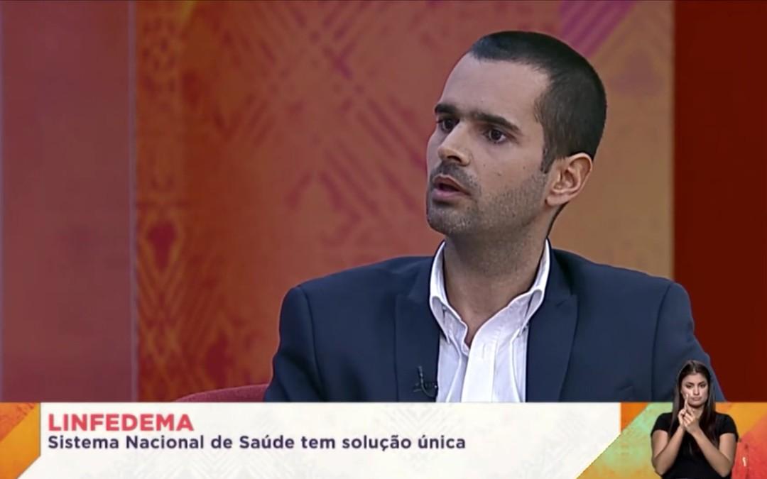 Dr. Gustavo Coelho na Praça da Alegria